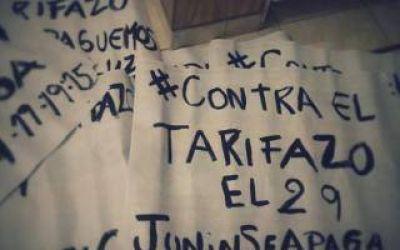 Junín: Bocinazo y apagón contra las subas de luz y gas