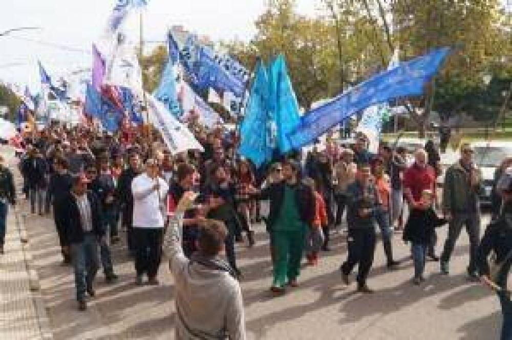 Gran convocatoria al acto del 1° de Mayo de la Mesa de Unidad Sindical
