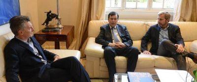 El Senador Zamora se reunió con el Presidente Mauricio Macri