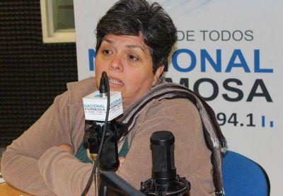 Nilda Pati�o asegur� que la reuni�n con el gobernador fue de mucho respeto y le dej� expectativas
