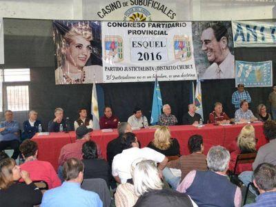 EN ESQUEL: Concurrido Congreso del PJ CHUBUT