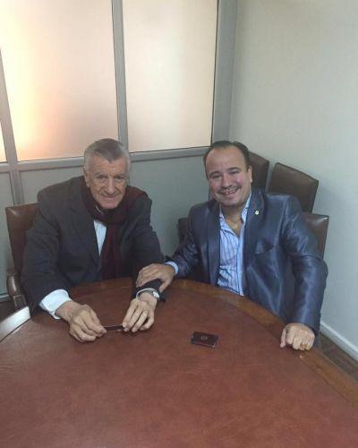 La UPSAFIP se reuni� con Jos� Luis Gioja
