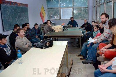 La Coordinadora por el boleto estudiantil se presenta en el HCD