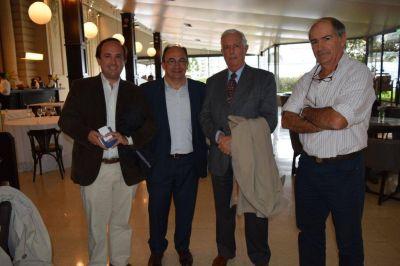 El intendente de Saladillo José Luis Salomón se reunió con el ingeniero Ricardo Gattoni