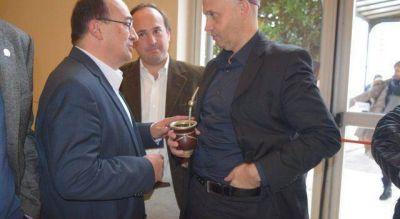 El intendente se reunió con el Ministro de Medio Ambiente y Desarrollo Sustentable de la Nación Sergio Bergman