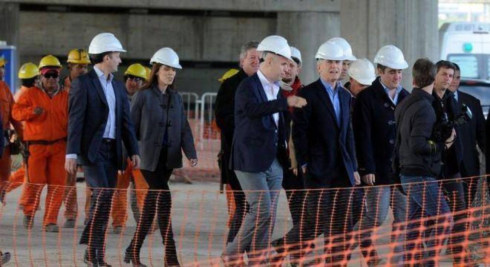 El gobierno apura una obra clave para conectar la Capital con el Conurbano