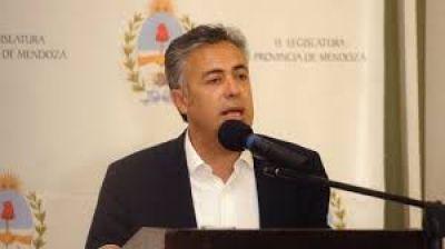 Halagaron la convocatoria a los tres poderes que hizo Cornejo y la relación con los legisladores nacionales