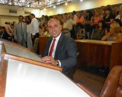 """Spalletti: """"Es muy auspicioso que el gobierno municipal, se haya puesto a la cabeza de la lucha contra los desarmaderos"""""""