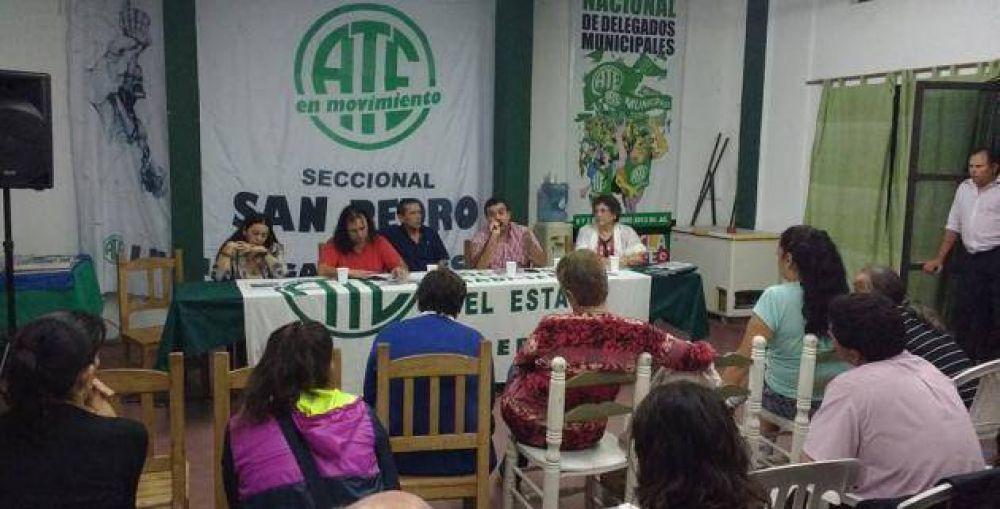 Paritaria municipal: Ate rechaza sumas fijas, pide seguir la negociación y no descarta medidas de fuerza