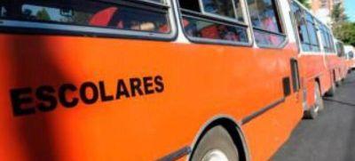 Transportistas escolares le declaran la guerra a Vidal
