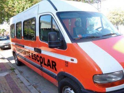 """Transportistas escolares en alerta por los valores impuestos por Vidal: """"Voy a ir a la Justicia"""", dijo Zagame"""