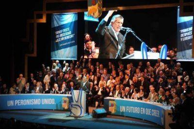 PJ Nacional: asumieron Gioja y Scioli