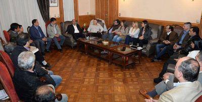 Manzur se reunió con intendentes
