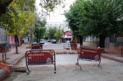 San Isidro: Trabajos de bacheo en Avellaneda