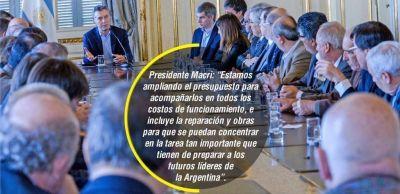 La UNNE ser� beneficiada por anuncio de fondos hecho por Macri
