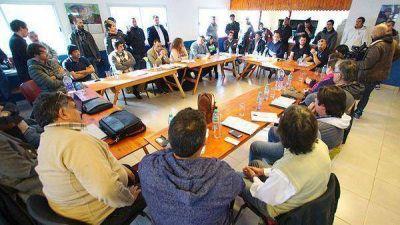 Gobierno y gremios estatales iniciaron discusi�n del sistema previsional
