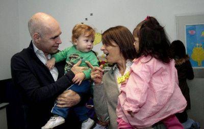 Larreta inauguró un Centro de Primera Infancia en Nueva Pompeya