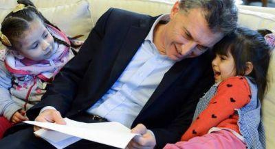 Macri lanza un Plan Nacional de Jardines de infantes