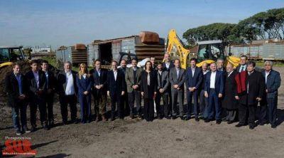 Vidal presentó el plan de infraestructura y seguridad para municipios