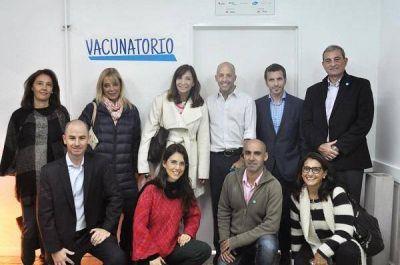 Se reinauguró el Vacunatorio del Hospital Juan Carlos Sanguinetti