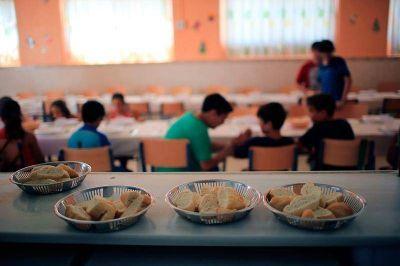 Mejor menú para los comedores escolares