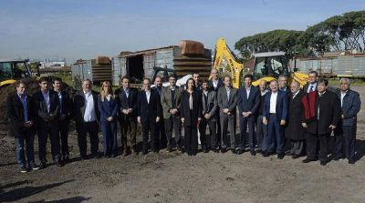 Vidal anunció plan de seguridad e infraestructura para los municipios