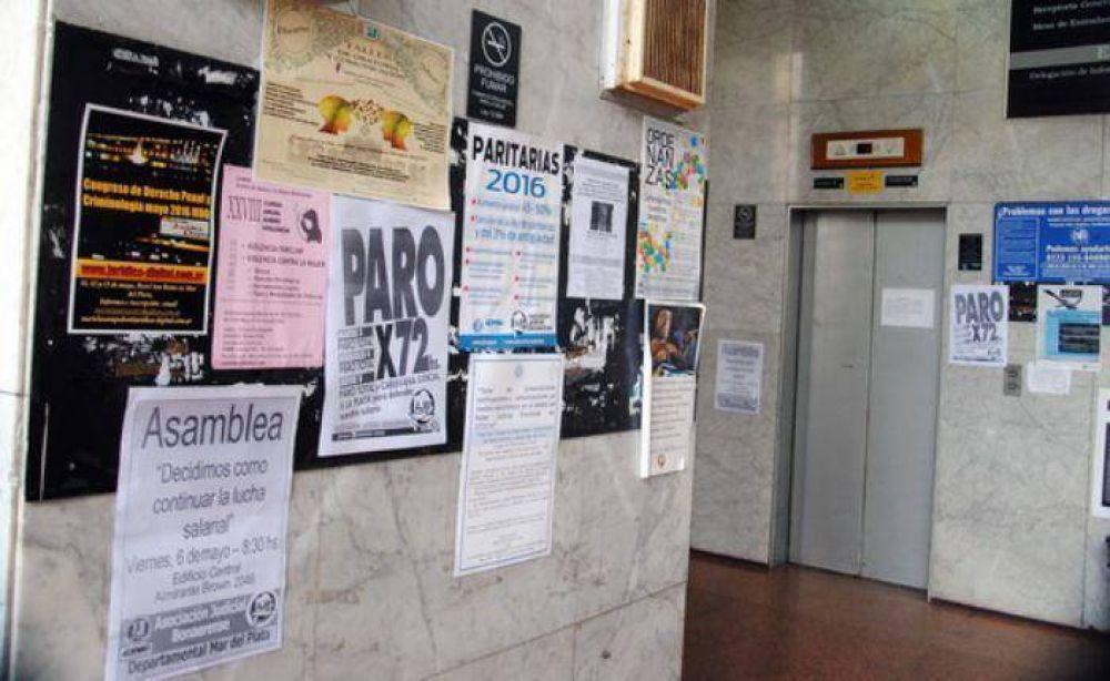 Segundo día de Paro Judicial y aún sin respuestas del gobierno de Vidal