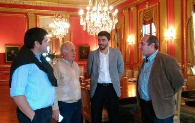 CARLOS RONDA EN LA PRESENTARON DEL PLAN DE GESTIÓN AMBIENTAL