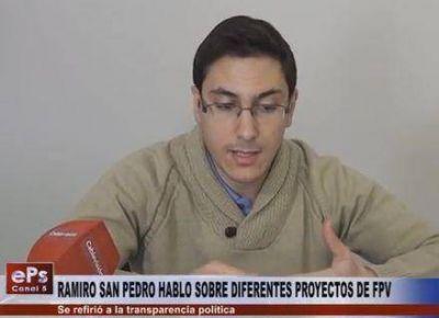 El FPV pide que se transparente la actividad del Ejecutivo Municipal