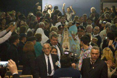 El pueblo participó de la primera jornada en honor a la Virgen