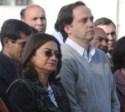 Mera ratificó el apoyo a la gestión de Lucía