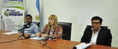 Desde el IOSEP lanzan Campaña de Vacunación Antigripal 2016