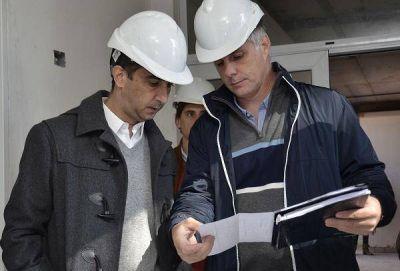 Tagliaferro recorri� la ampliaci�n del Jard�n Municipal N�1 en Mor�n
