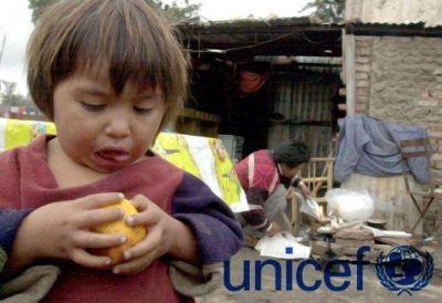 Según un relevamiento de UNICEF, 3 de cada 10 niños argentinos son pobres