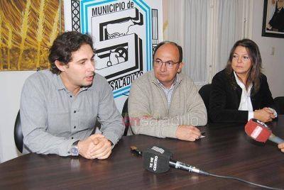 Rodrigo Luchinsky estuvo en Saladillo