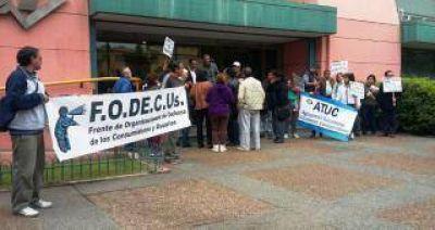 Usuarios protestaron en Gasnor y Edet