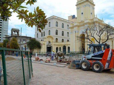 Avanzan obras en Casco Hist�rico de la ciudad