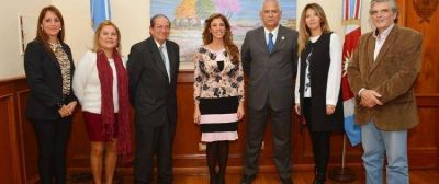 Miembros de la Fundación CePSI se reunen con la Gobernadora Dra. Claudia de Zamora