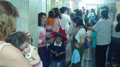 Más de 450 casos por infecciones respiratorias se atienden en el Materno