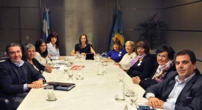 """Vidal se reunió con las """"Madres del dolor"""" y analizó políticas para combatir el delito en la Provincia"""