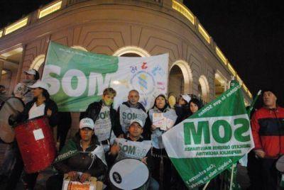 Sindicato de Obreros de Maestranzas protesta contra Aldrey Iglesias