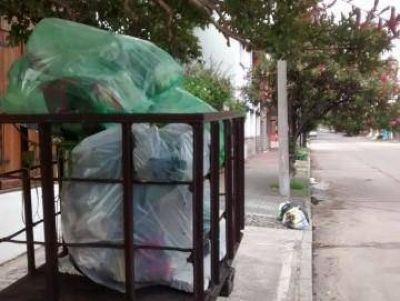 Sin recolección de residuos porque los trabajadores de la empresa 9 de Julio no cobraron sus salarios y no salieron a la calle