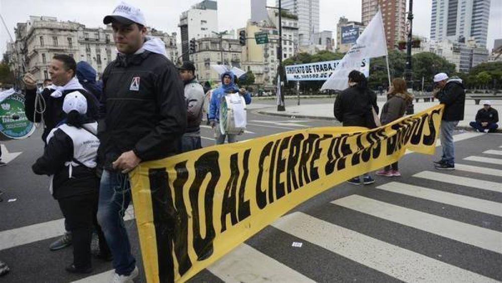 Semana caótica: la 9 de Julio se convirtió en protestródromo