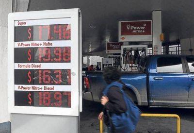 Cayó 28% la venta de naftas después del último aumento