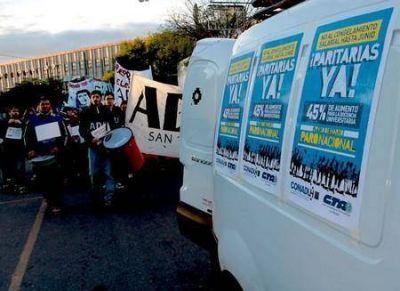 Docentes universitarios empiezan una nueva semana de protesta y preparan un paro indefinido