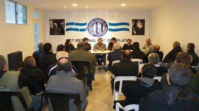 Se realiz� una reuni�n para definir el futuro de la CGT regional
