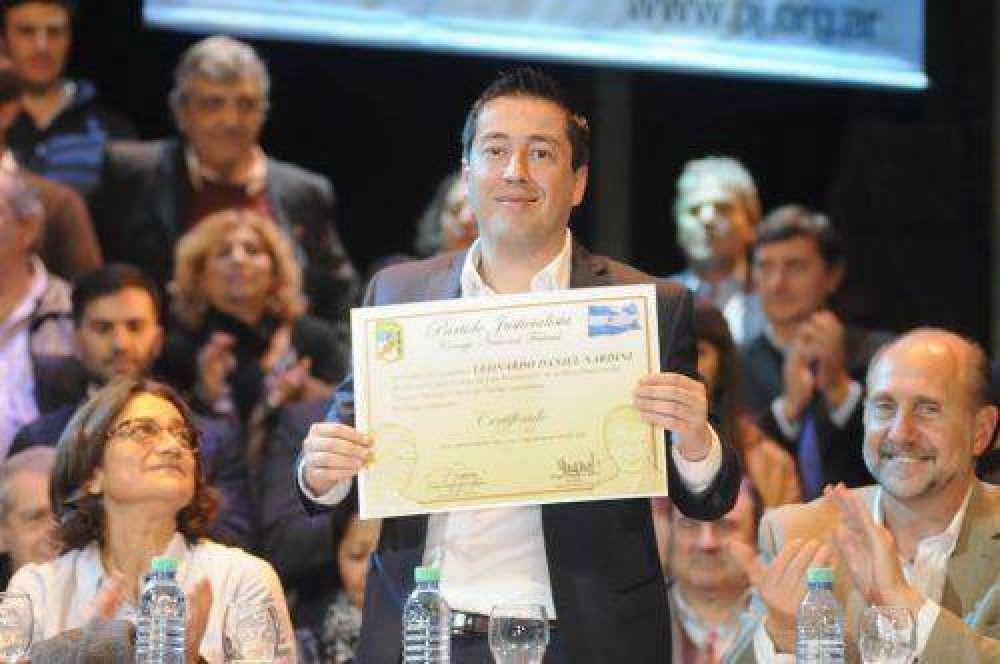 Nardini dijo sentir honor por ser vicepresidente 4° a nivel nacional del PJ
