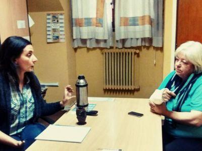 Domínguez se reunió con el DPA en Bariloche por el estado del Arroyo Ñireco