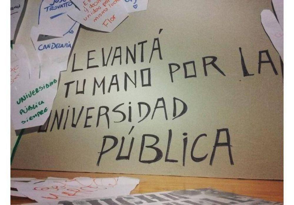 Inició en Entre Ríos una semana de lucha en defensa de la universidad pública