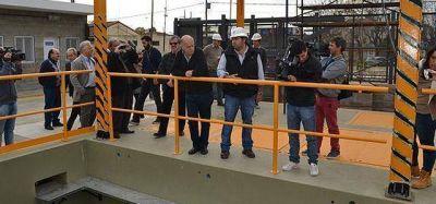 Grindetti present� el Plan de Cloacas 2016-2019 en Escalada